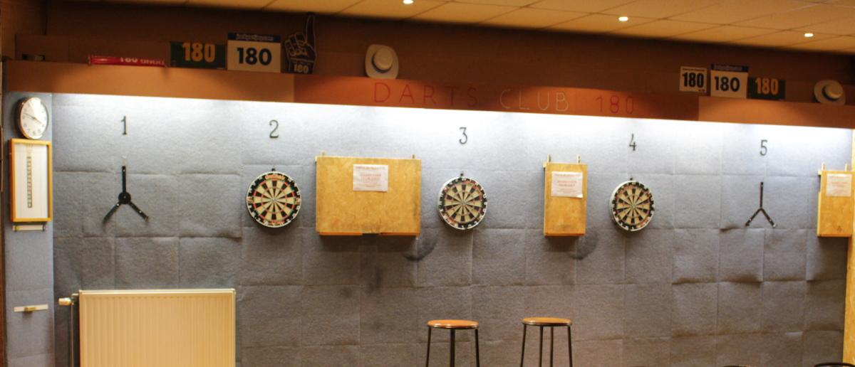 Darts - sportcentrum Kanaal Beringen